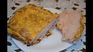 Нежная свинина запеченная в духовке.