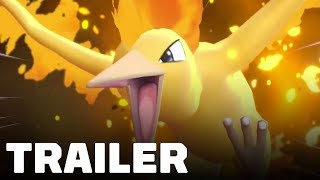 Pokemon Let's Go Pikachu and Eevee: Legendary Birds Trailer - TGS 2018