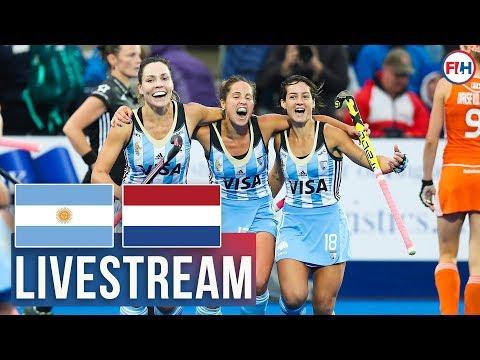 2016 Women's Hockey Champions Trophy FINAL | FULL MATCH LIVESTREAM REPLAY