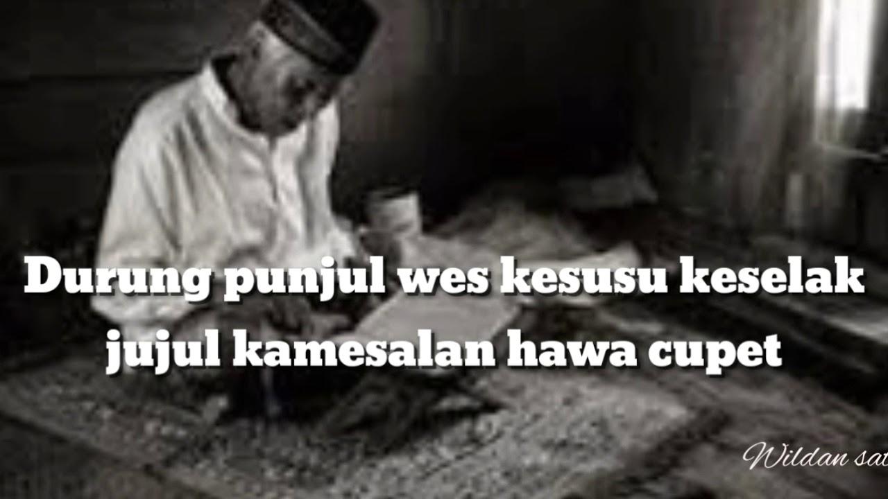 Kata Bijak Bahasa Jawa Kuno Tembang Lir Ilir Buat Story Wa