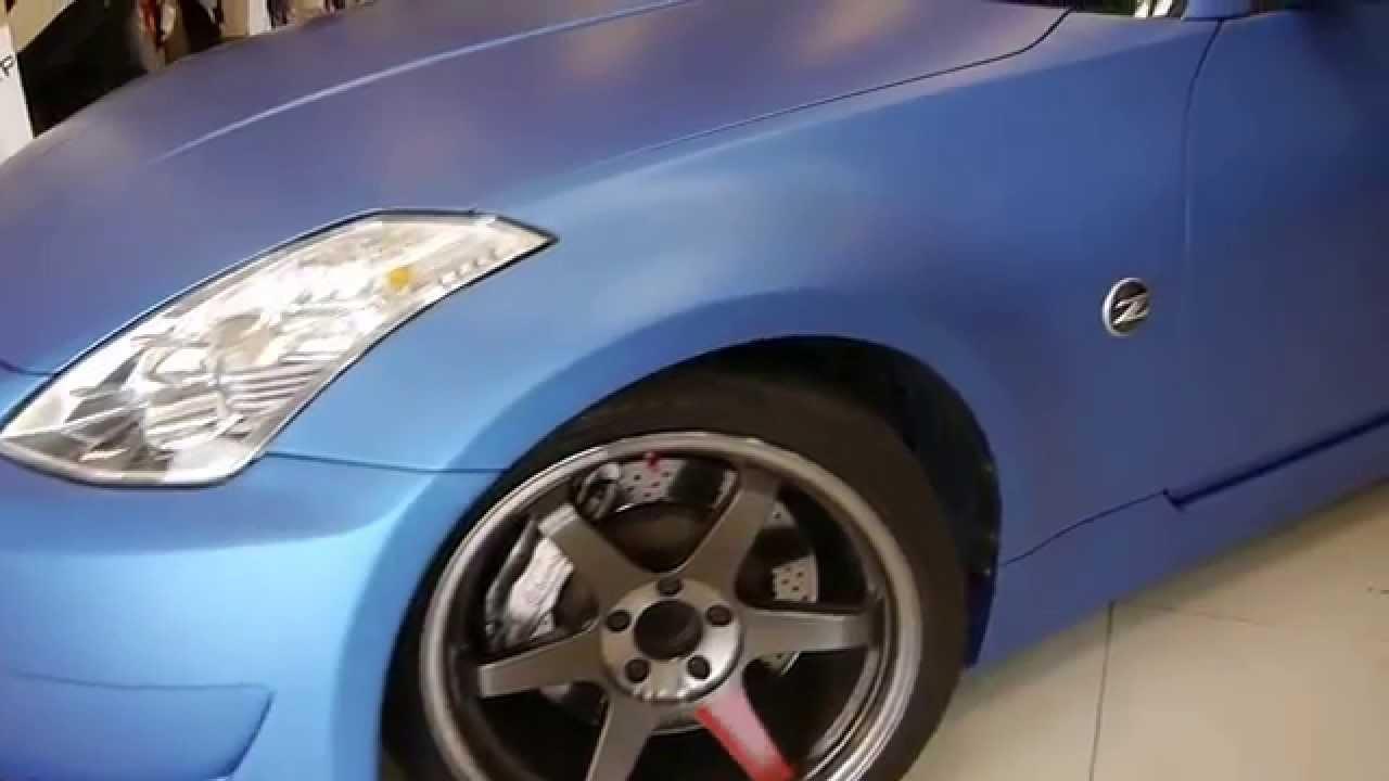 3m metallic blue nissan 350z fairlady z33 by wrap workz hong kong 3m metallic blue nissan 350z fairlady z33 by wrap workz hong kong youtube vanachro Choice Image