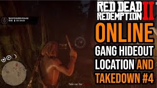 Red Dead Redemption 2 Online Gang Hideout Location and Takedown #4