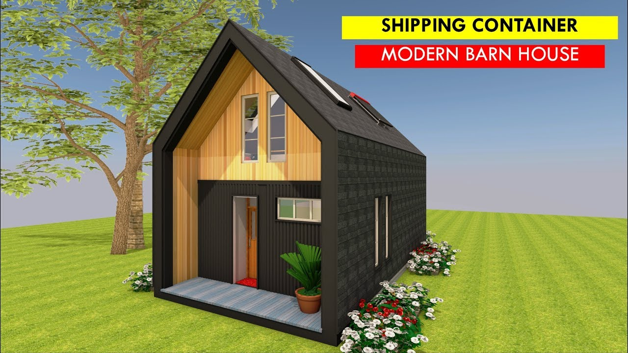 Barn Style House Plans Of 2 Bedroom Shipping Container