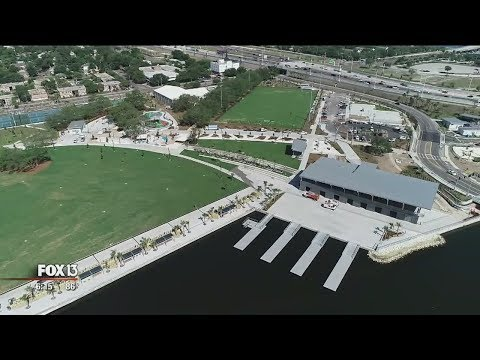 Mayor eager to show off Tampa's revamped Julian B. Lane Riverfront Park