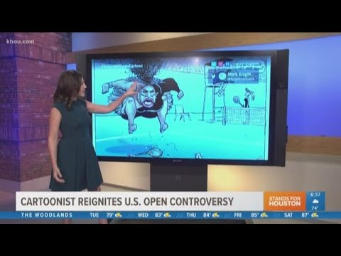 World reacts to cartoon of Serena Williams in Australian newspaper
