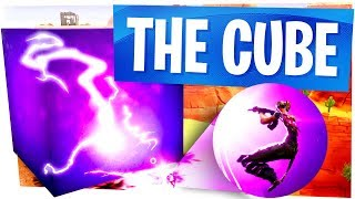 My New Life Goal: Kill someone with the Cube - Fortnite New Mysterious Cube