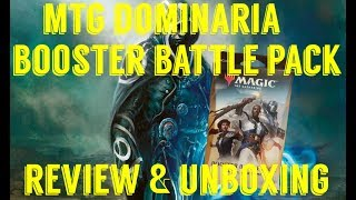 4K DOMINARIA BOOSTER BATTLE PACK #MTG REVIEW & UNBOXING #FullMeltFusion