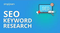 SEO Keyword Research | SEO Tutorial For Beginners | Simplilearn