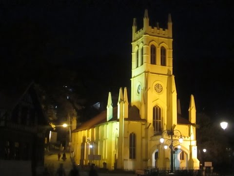 Top 10 places to visit on foot around Mall road Shimla.