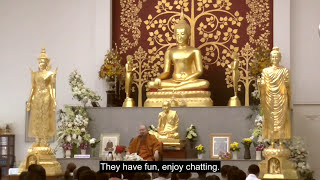 Dhamma Talk by Luangpor Pramote: Awakening from Thoughts