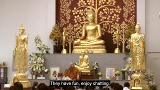 Dhamma Talk by Luangpor Pramote: Awakening from Thoughts