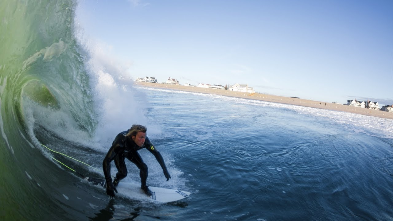 NEW JERSEY GETS GREAT SURF!