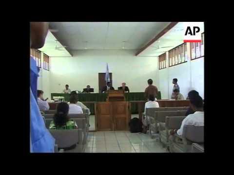 EAST TIMOR:  MILITIAMEN TRIAL