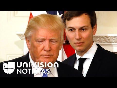 La Casa Blanca confirma que el yerno de Trump también se reunión con el embajador ruso