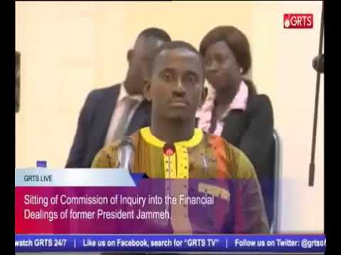 Former SG Momodou Sabally Testifies At The Gambia Commission Of Enquiry