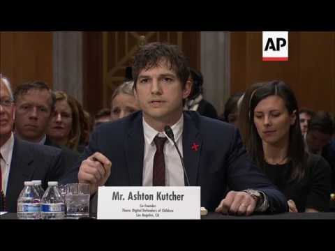 Kutcher emotional in his fight against slavery