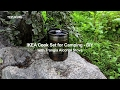 IKEA Hobo Stove & Cook Set for Camping with Trangia Alcohol Stove - DIY