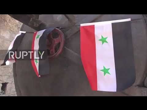 Syria: First steam train in 5 years departs Damascus for resort of Al-Zabadani
