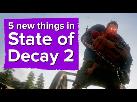 5 new things in State of Decay 2 (including multiplayer details!)