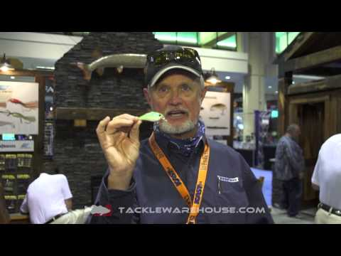 Luck-E-Strike Rattling Squarebill Series 3 Crankbait With Rick Clunn | ICAST 2014