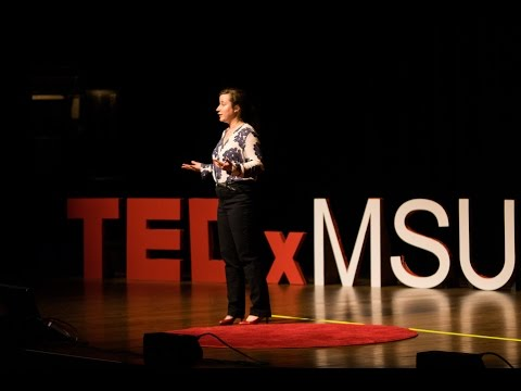 Catalyzing change through museum exhibits | Margaret Hermanson | TEDxMSU
