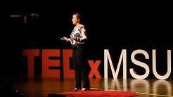 Catalyzing change through museum exhibits | Margaret Hermanson | TEDxMSU