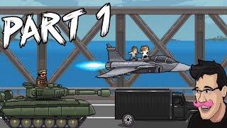 """PewDiePie: Legend Of The Brofist - Part 1 """"MARKIPLIERS JET & BARREL KING!"""" (IPhone Gameplay)"""