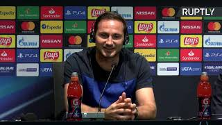 Chelsea manager Frank Lampard press conference ahead of UEFA Super Cup Final