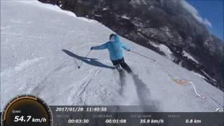 志賀高原・焼額山 The Carving Skier
