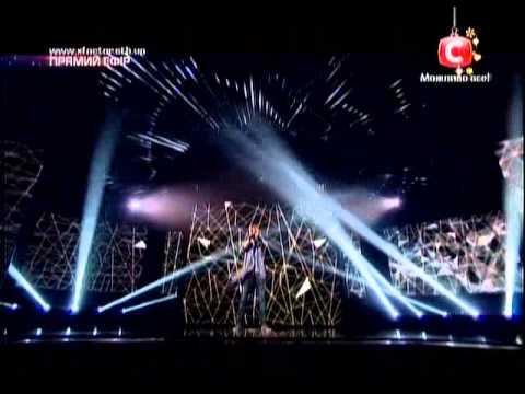Видео: Евген Шпаченко на шоу Х фактора 04 01 2014 р