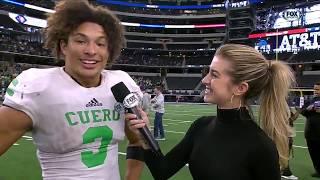 Alexa Shaw Cuero 2018 State Championship Postgame Interview