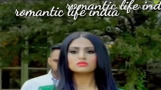 NEW Romantic Status| Dark Love| Sidhu Moosewala | new punjabi Whatsaap status By Romantic life india