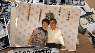 Видеоролик из фотографий в подарок на золотую свадьбу.