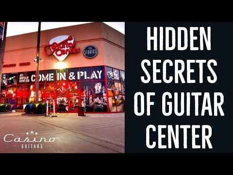 Hidden Secrets of Guitar Center