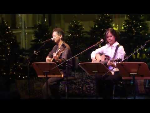 To Love Somebody (Bee Gees cover) - Peter Diaz  with Cat Ong @ Esplanade (HD)