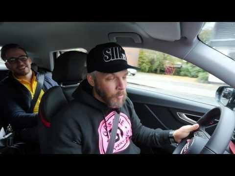 Testfahrt Audi Q2 mit Sidney Hoffmann