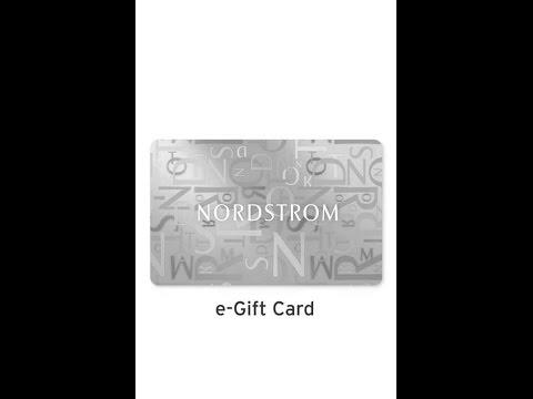 Nordstrom E-Gift Program - FOX5NY - YouTube