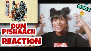 Gambar cover Seedhe Maut | Dum Pishaach | REACTION | HEY YO NiDHi