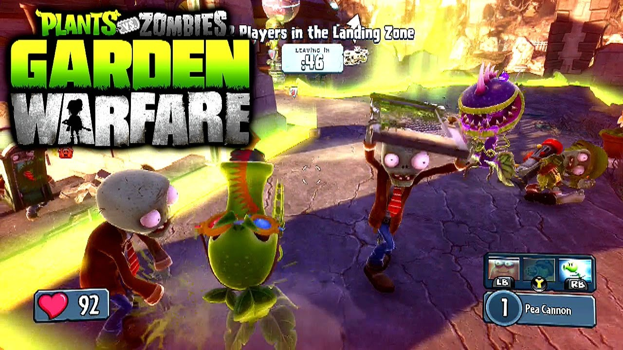 Plants Vs Zombies Garden Warfare Garden Ops 1 Xbox One