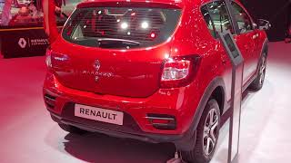 Новый Sandero Stepway City на ММАС 2018