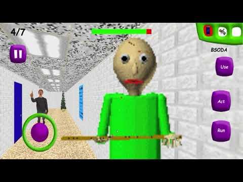 Android Gameplay! Baldi's