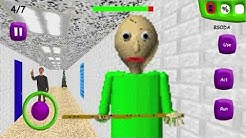 Android Gameplay! Baldi's Basics in Education and Learning