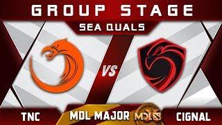 TNC vs Cignal Ultra [EPIC] MDL Chengdu Major 2019 SEA Highlights Dota 2