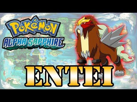 Caçando Lendários [Pokémon Alpha Sapphire] - Entei