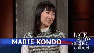 Marie Kondo Tidies Up Stephen
