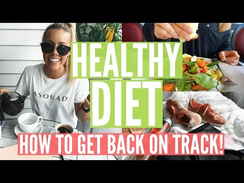WHAT I EAT | Back on Track | Getting Healthy Again!!