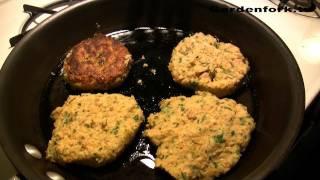 Chickpea Veggie Burgers, A Mark Bittman Twitter Recipe