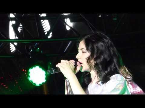 Marina And The Diamonds - Radioactive LIVE HD (2015)  Las Vegas Cosmopolitan