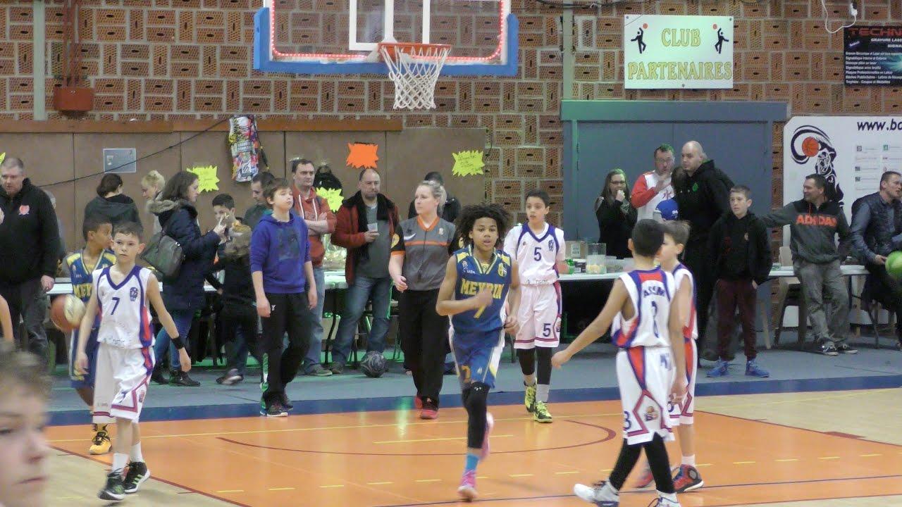 Kaya Mutambirwa - Meyrin Basket vs ASSM Pfastatt Basket - Mondial Mini Basket 2016
