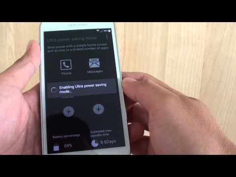 Samsung Galaxy S5: How to Enable/Disable Ultra Power Saving Mode